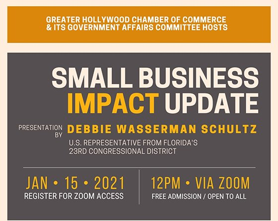 Small Business Impact Update by Debbie Wasserman Schultz