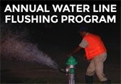 Annual Water Line Flushing