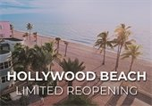 Hollywood Beach Limited Reopening