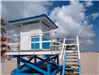 new lifeguard tower installed 11/08/2019