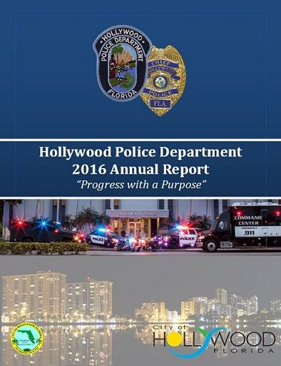 Hollywood  Police Department Annual Report 2016