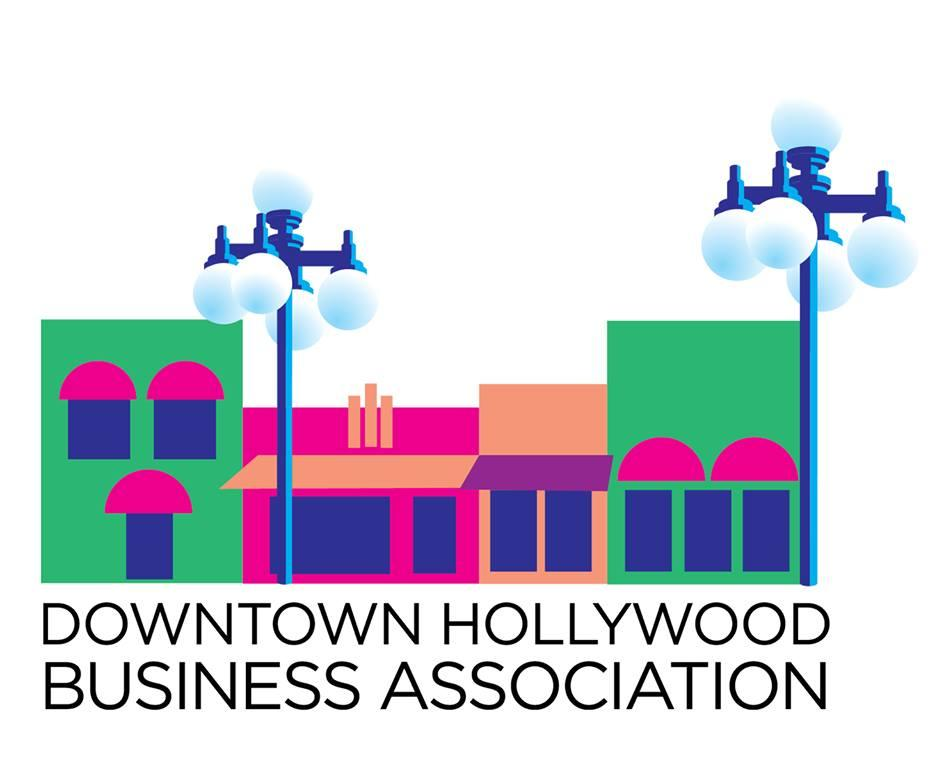 Downtown Hollywood Business Association logo