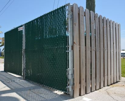 Dumpster Enclosure Wood