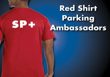 Red Shirt Parking Ambassadors