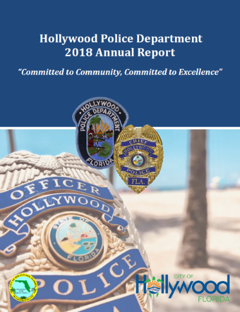 2018 HPD Annual Report Cover Page