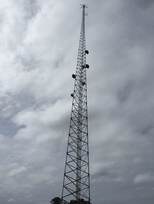 typical communication tower