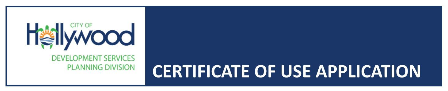 Certificate of Use Header Graphic