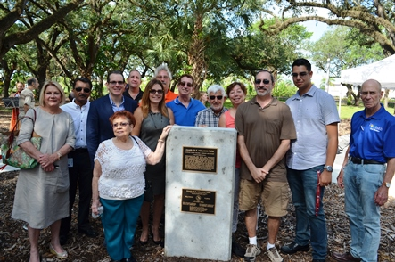 Charles F. Vollman Park Ribbon Cutting