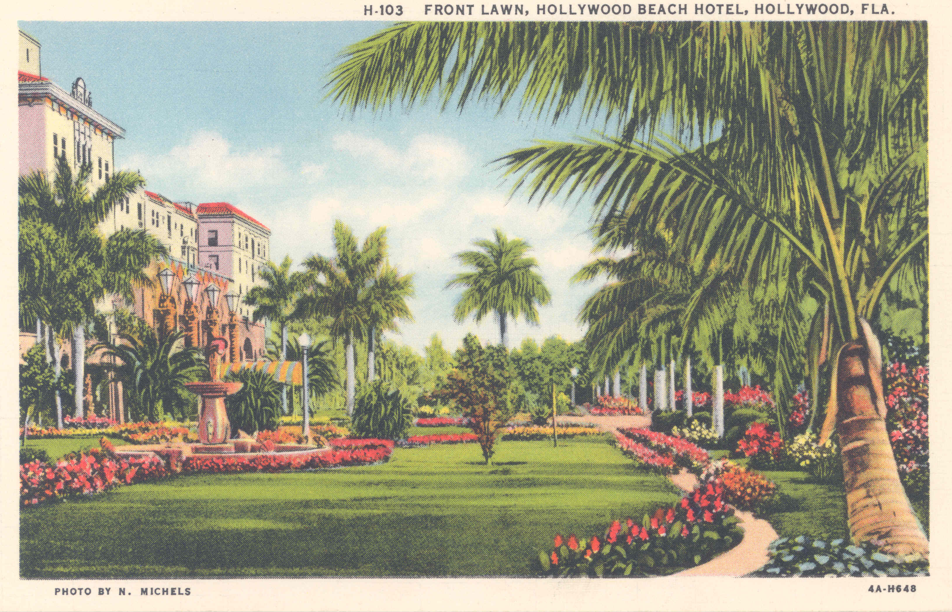 Hollywood Beach Hotel Front Lawn