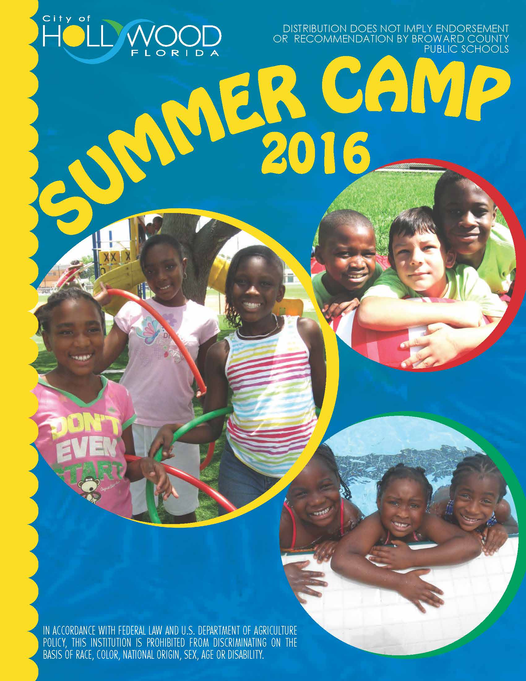 2016 Summer Camp Brochure