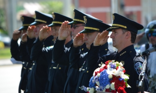 HPD Fallen Officers Memorial Service