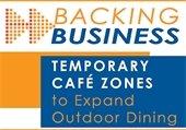 Temporary Café Zones