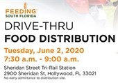 Food Distribution - Tuesday, June 2nd from 7:30 am - 9 am