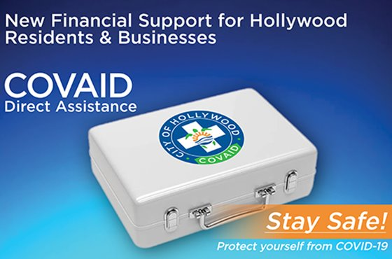 New Financial Support for Hollywood Residents and businesses