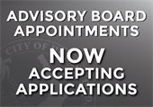 Advisory Board Appointments Now Accepting Applications
