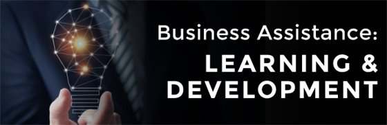 Business Assistance: Learning & Development