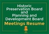 Board Meetings resuming