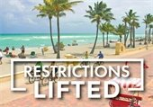 Hollywood Beach Restrictions Lifted