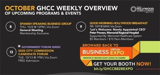 Greater Hollywood Chamber of Commerce: This Week's Events