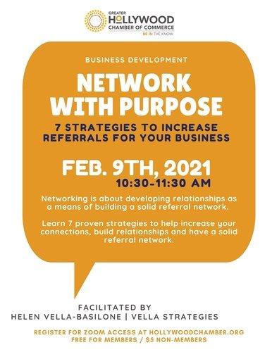 Business Development Online Workshop: Network With Purpose