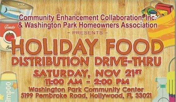 Holiday Food Distribution Event
