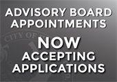 Now accepting applications for Advisory Board Appointments