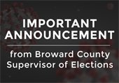 Important Announcement Regarding Poll Workers in Hollywood