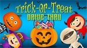 Trick or treat Drive thru