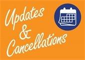 Updates & Cancellations
