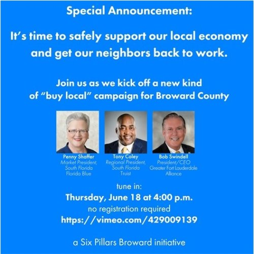 "Kick-off Event: New Broward ""Buy Local"" Campaign"