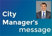 Message for the City Manager