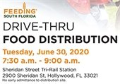 Drive-thru Food Distribution Tuesday, June 30, 2020 7:30 - 9 a.m.