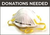 N95 respirator protective device donations needed