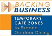 Temporary Café Zones