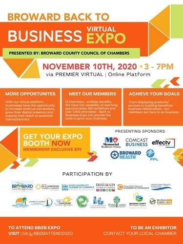 Broward Back to Business Virtual Expo