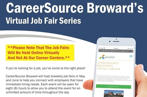 CareerSource Broward's Virtual Job Fair Series