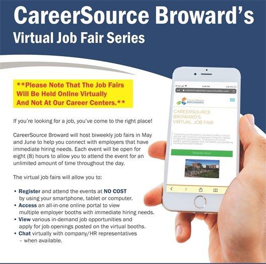 CareerSource Broward's Virtual Job Fair Series