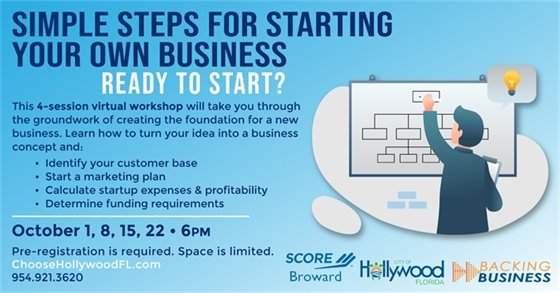 Simple Steps For Starting A Business