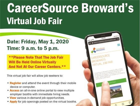 CareerSource Broward's Virtual Job Fair