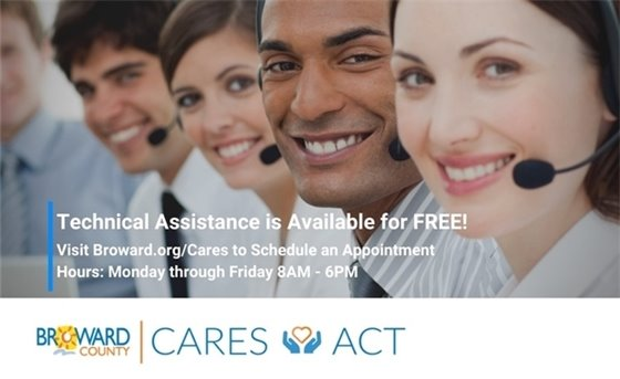 Broward County CARES Act Grants - FREE Technical Assistance