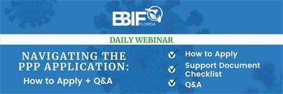 PPP: BBIF's Daily Webinar