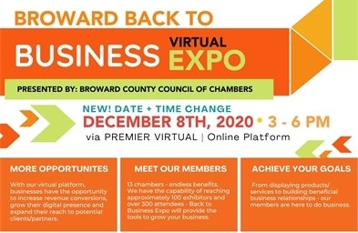 Broward Back To Business Virtual Expo - December 8th