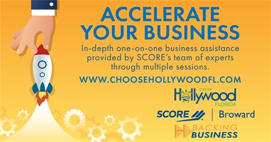 Backing Business: City of Hollywood Partners With Broward SCORE