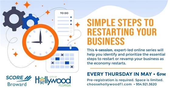 Simple Steps to Restarting Your Business