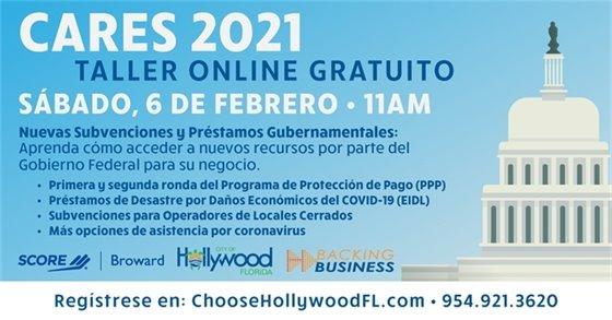 CARES 2021 - Taller Online Gratuito