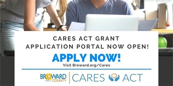 CARES Act Grant - Application Portal Now Open! APPLY NOW!