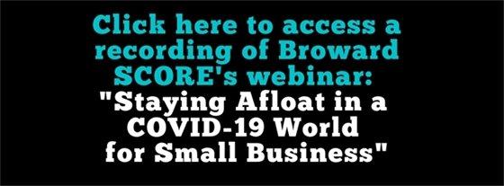 Staying Afloat Webinar