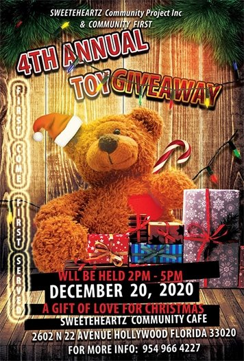 4th Annual Toy Giveaway