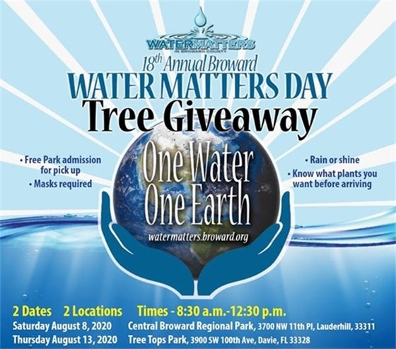 Water Maters Day Tree Giveaway