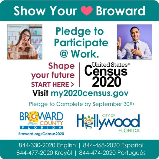 Show Your Love for Broward • Census 2020 Workforce Campaign